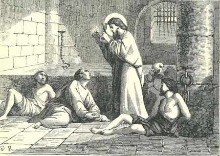 while in prison valentine continued to minister to anyone he could like st paul the apostle who had been in a prison in that same city many years earlier