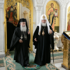 Primate of the Orthodox Church of Jerusalem arrives in Moscow