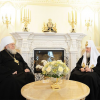 The Primate of the Russian Church Abroad Congratulates His Holiness Patriarch Kirill on His Namesday