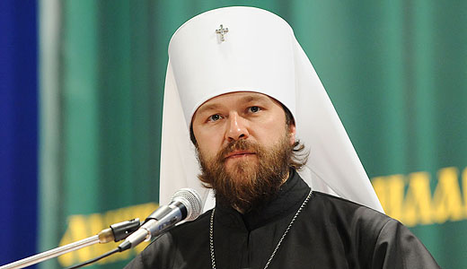 "Metropolitan Hilarion of Volokolamsk: ""Freedom of expression and press should not violate the rights of believers to defend their religious feelings"""