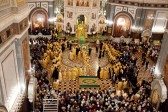 Mother of God Belt arrives in Moscow (+ 80 photos + video)