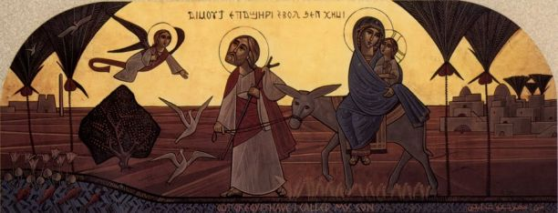 jesus healing the blind icon
