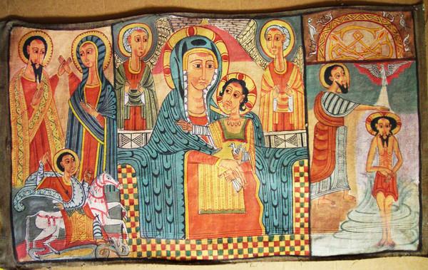 Ethiopian Iconography dans images sacrée 7c338239cf385032c7fed6e057854c8d_w600