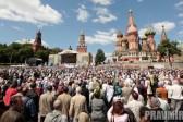 Public Moleben in Moscow
