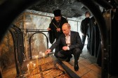 President Putin Venerates Shrines in Jerusalem and Bethlehem