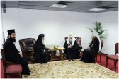 Patriarch Kirill meets with Primate of the Orthodox Church of Jerusalem