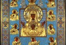 The Kursk-Root Icon of the Mother of God is Brought to the Construction Site of All Saints Church