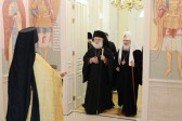 Patriarch Theodoros II of Alexandria Arrives in Russia