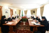 Regular Session of the Russian Orthodox Church's Holy Synod Begins at the Laura of the Caves in Kiev