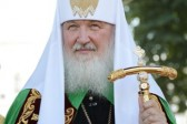 Patriarch Kirill Celebrates the Memory of St. Vladimir at Kiev Monastery of the Caves