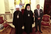 Metropolitan Hilarion of Volokolamsk Meets with Patriarch Theodoros II of Alexandria and All Africa
