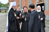 Clergy of the Trinity Church in Pyongyang Visit Khabarovsk