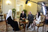Primate of the Russian Church Answers Questions from Polish Journalists