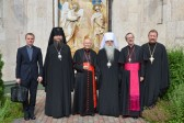 Metropolitan Filaret of Minsk and Slutsk Meets with Roman Catholic Prelates