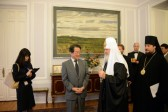 Patriarch Kirill Meets with Japan's Ambassador to Russia