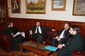 Metropolitan Hilarion Meets with the Head of the Conference of European Rabbis