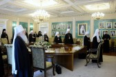 Holy Synod Completes First Meeting of the Winter Session 2012-13