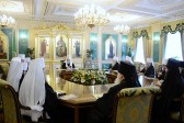 Holy Synod of the Russian Orthodox Church Holds its Regular Session