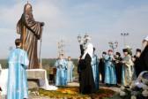 Patriarch Unveils Predecessor's Statue