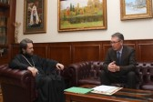 Metropolitan Hilarion Meets with New Russian Ambassador to Serbia