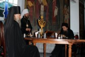 Metropolitan Hilarion Celebrates at the Russian Monastery on Mount Athos