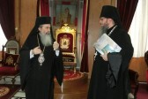 The Acting Chief of the Russian Ecclesiastical Mission of the Russian Church Abroad Arrives in Jerusalem