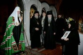 Patriarch Kirill Visits Convent of St. Mary Magdalene in Jerusalem