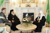 Archbishop Ieronymos of Athens thanks the Russian Orthodox Church for her aid to the Greek Orthodox Church