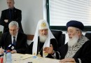 Russian Orthodox Head Meets Israel Chief Rabbis, Peres
