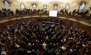 Church of England Says No to…