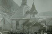 Restored Bell Tower Atop Juneau Russian Church