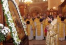 Metropolitan Hilarion Сelebrates Divine Liturgy at the Cathedral Church in Nizhniy Novgorod