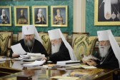 The Holy Synod of the Russian Orthodox Church Completes its First Day Work