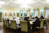 His Holiness Patriarch Kirill Chairs Session of the Holy Synod of the Russian Orthodox Church