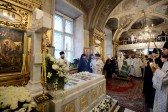 Patriarch Kirill Says the Office for the Dead for the Ever-Memorable Patriarch Alexy II