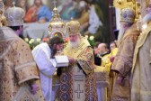 On the Commemoration Day of St. Philaret of Moscow, Patriarch Kirill Celebrates at the Church of Christ the Saviour and Leads an Episcopal Consecration