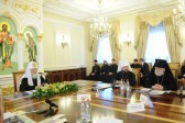 Patriarch Kirill Chairs a Meeting of the Church Post-Graduate School's Supervisory Board