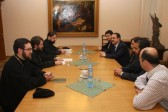Metropolitan Hilarion Discusses the Situation of Christians in Syria with Syria's Ambassador