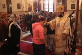 Metropolitan Hilarion of Volokolamsk Celebrates at the Russian Parish in Beirut