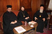 Metropolitan Hilarion of Volokolamsk Meets with His Holiness Patriarch Bartholomew