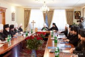 The Holy Synod of the Ukrainian Orthodox Church Meets for a Regular Session in Kiev