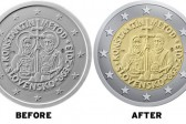 Slovakia Removes Saints' Halos on New Euro Coin