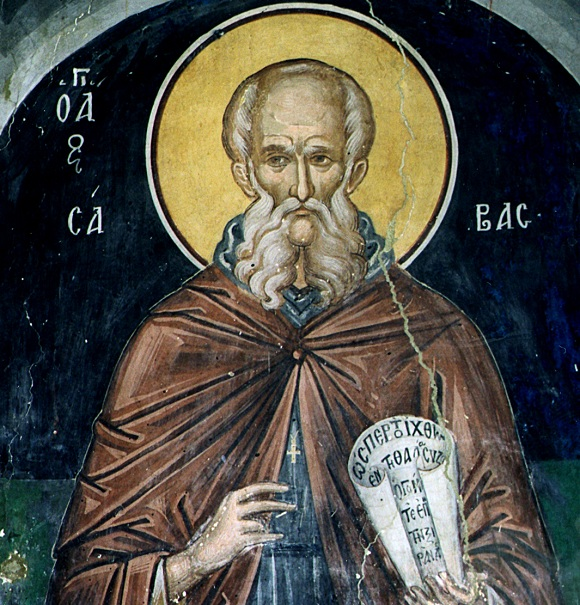 ST. SABBAS, Sabas, Savas, Ascetic, the Sacrified
