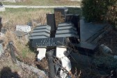 Serb cemetery targeted in Kosovo town
