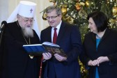 Poland's president hosts Orthodox Church leader