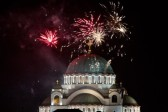 Orthodox calendar New Year welcomed across Serbia