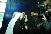 Catholicos-Patriarch Iliya II of All Georgia Arrives in Moscow
