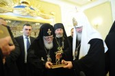 His Holiness Patriarch Kirill meets with Primate of Georgian Orthodox Church