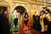 Patriarch Kirill gives holy relic to Georgian counterpart