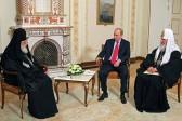 Georgian Church Leader Meets Putin